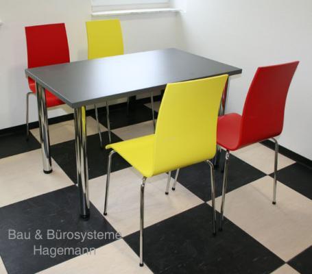 gelbe kantinenstuehle gelber kantinenstuhl bistrostuehle. Black Bedroom Furniture Sets. Home Design Ideas