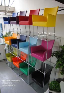 esszimmerst hle mit armlehne bunt. Black Bedroom Furniture Sets. Home Design Ideas
