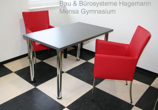 rote kantinenstuehle roter kantinenstuhl bistrostuehle rot. Black Bedroom Furniture Sets. Home Design Ideas
